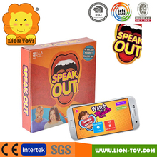 Hot Speak Out Game board game toy family game