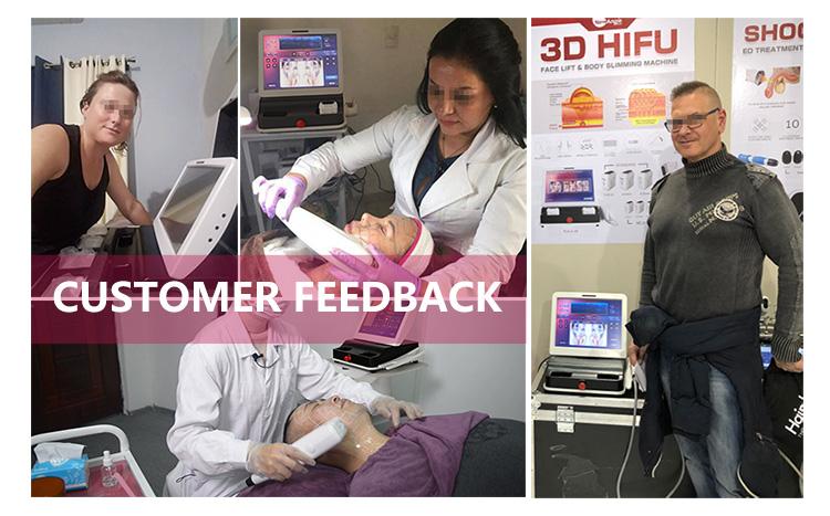 2018 Hautintensiver Körper mit hoher Intensität, der 3D HIFU abnimmt