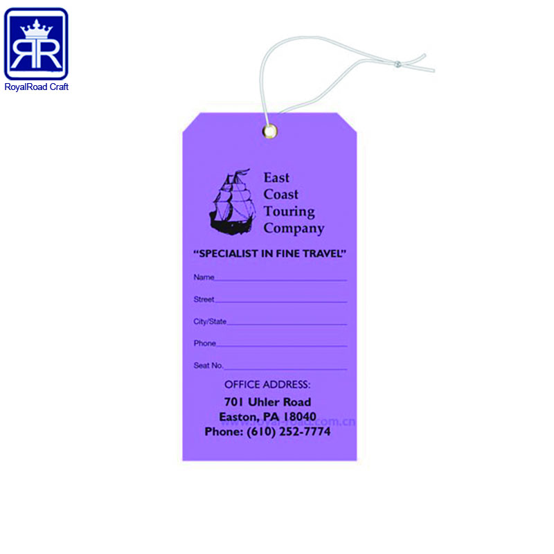Custom Clothing Labels Swing Ticket New cardboard Hang tags