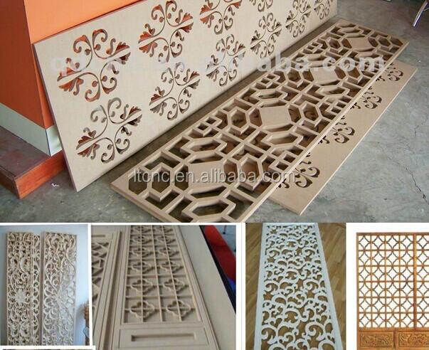 Wood Door Making Cnc Router Cutting Furniture Cnc Wood
