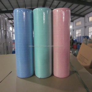 [BSCI FACTORY] Disposable Heavy duty industrial cleaning cloths/nonwoven wipes roll/industrial cleaning wipes