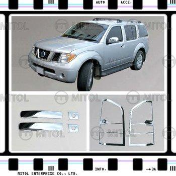 Poignee De Porte Chromee Pour Nissan Pathfinder 05 Sur Accessoires