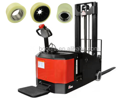 4 wheels Forklift drive wheels for Electric Hyster Crown forklift
