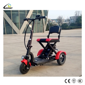 Hot sale elderly mobility folding 3 wheel electric scooter for old people