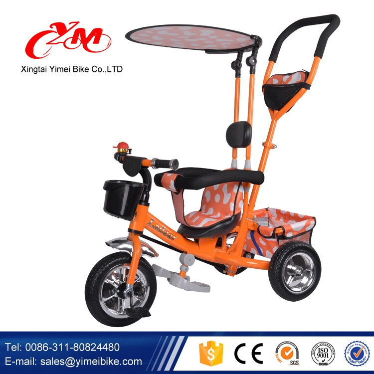 14a71a8958f High Quality Steel Frame Kids metal tricycles for toddlers/CE kid tricycle  with push bar