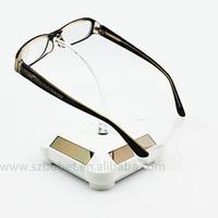 Solar power Acrylic Eyewear display stand/holder racks for glasses