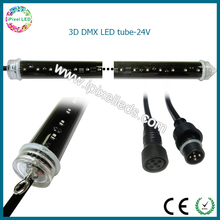 FULL Color 16 Pixels DMX 512 control DC12V 19W/m360 View LED Tube