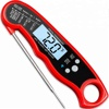 Hot Selling Folding Waterproof Instant Read Kitchen Milk Meat Food Digital Thermometer for Outdoor Cooking BBQ
