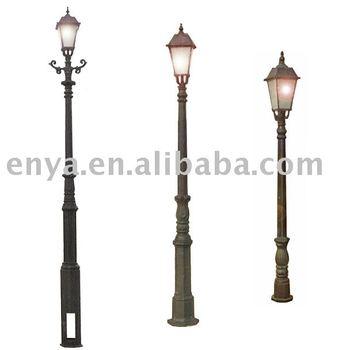Cast Iron Garden Lamp Post Light Pole