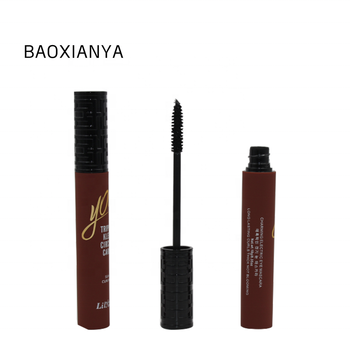 Customize Your Own Brand Eye Makeup Black Color Lengthen Lasting Waterproof Organic Private Label Mascara Tube