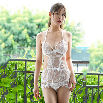 New Fashion Design Nude Sexy Women See Through Nighty Lingerie For Girls