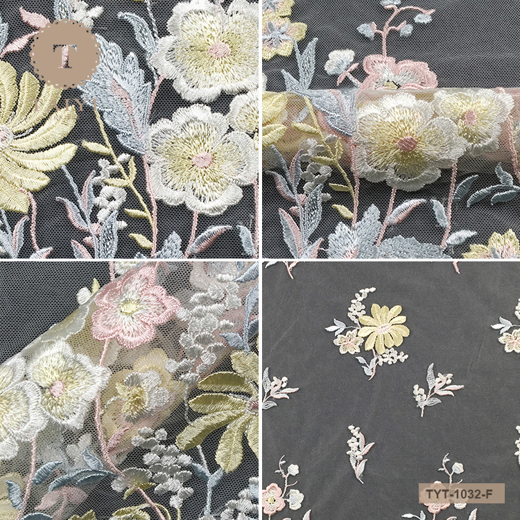 Top Quality New Fashion Guipure Embroidery Lace Fabric