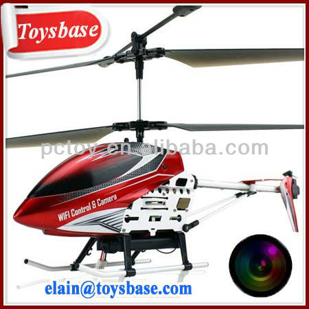 Wifi flying carmera helicopter with gyro