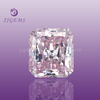 loose cushion machine cut light lavender cubic zirconia bangkok