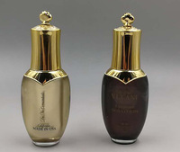 luxury crown shape acrylic bottle for serum and lotion