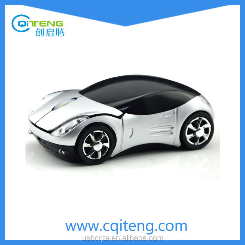 Race Car Mouse 2.4G Wireless Car Shape Wireless Road Mice Car Mouse
