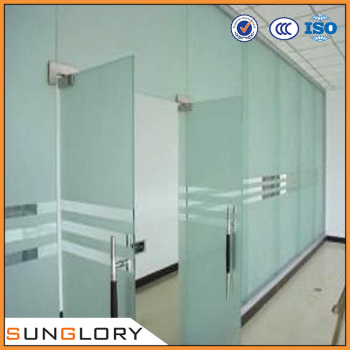 Double Leaf Glass Door With Tempered Glass Buy Double