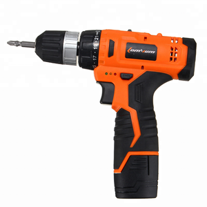 Chinese Power Tools Manufacturer 24V 350W Wood Metal Drilling Work Cordless Lithium Battery Impact Electric Drill
