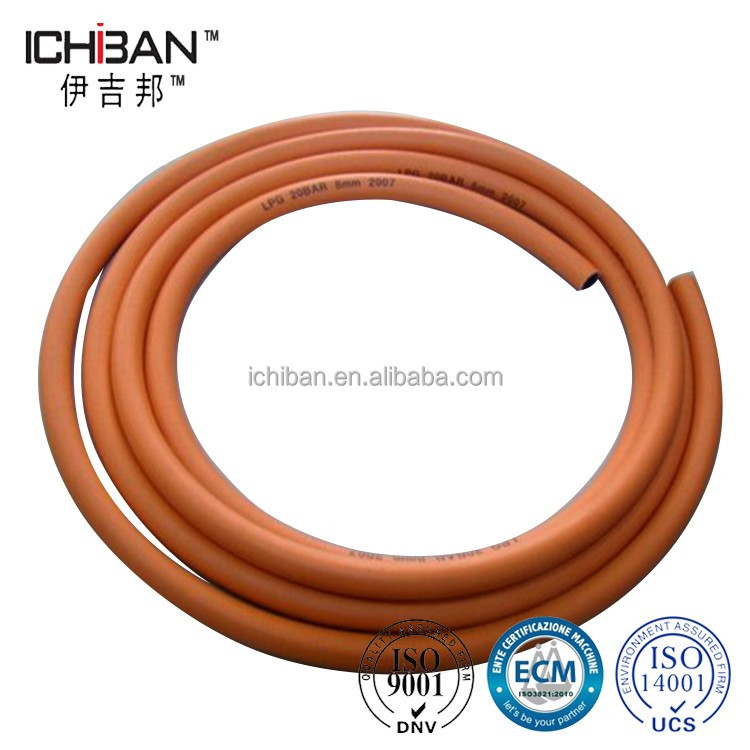 Family Gas Cooker Pipe Flexible Natural Lpg Rubber Hose Propane Gas Hose / Lpg Rubber Hose