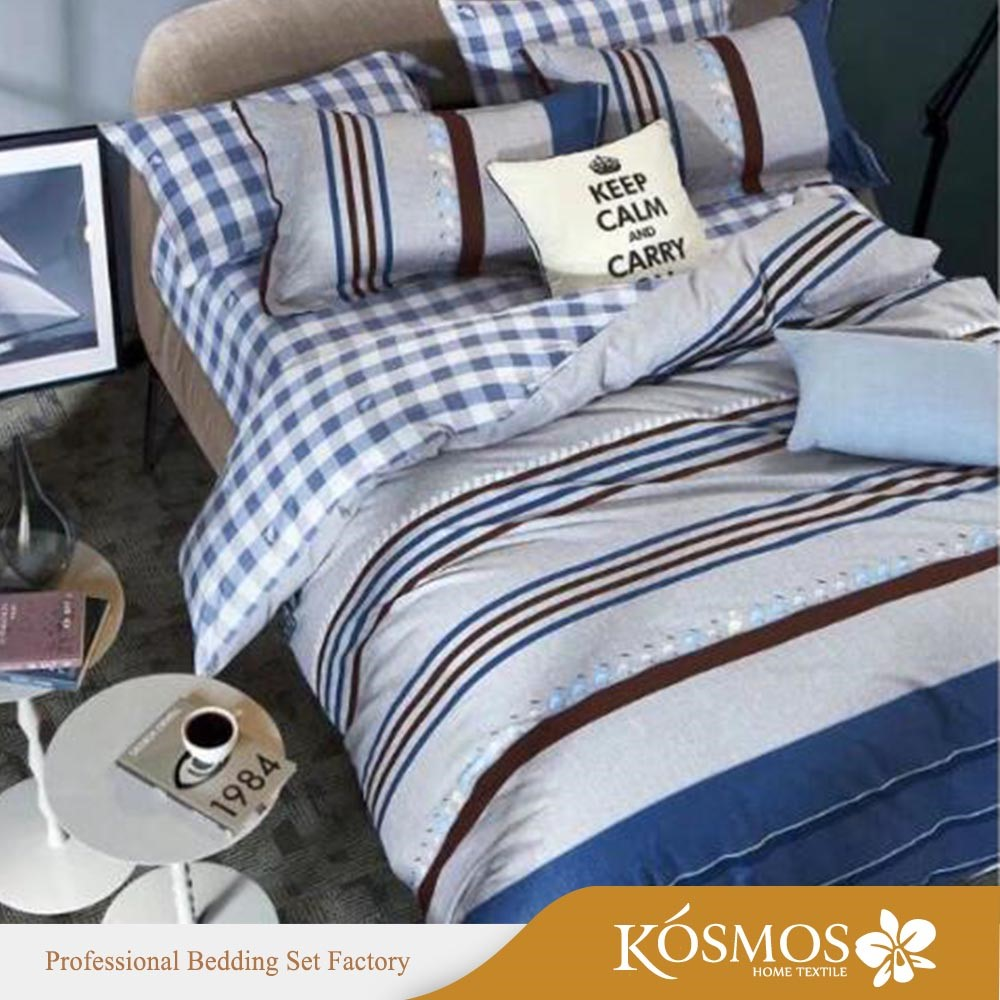 KOSMOS Bedding Set Bed Bed Organic Nursing Cover 100% Cotton Custom Printed  Bedding Sets Bed