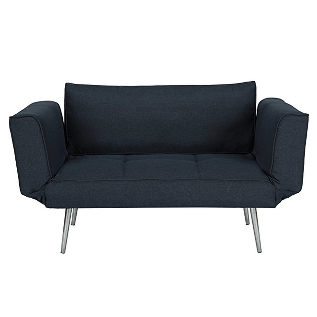 Wondrous Modern Leisurely Small 2 Seater Sofa One Person Bed With Folding Armrests And Metal Legs Buy Small Sofa Bed Leisurely Sofa Bed 2 Seater Sofa Product Andrewgaddart Wooden Chair Designs For Living Room Andrewgaddartcom