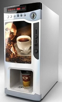 Coin Operated Tea Coffee Vending Machine