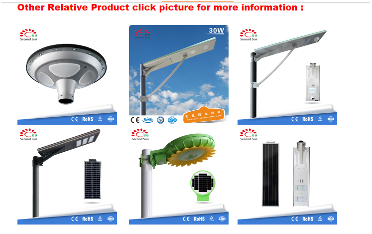 80W High Quality Led Solar Street Light With Pole