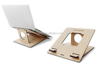 High Density Wood Board Stand for Apple Macbook Laptops