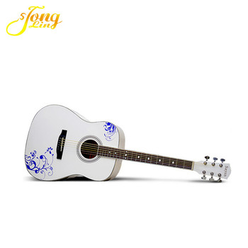 Cheapest White Color Classical Guitar Handmade Tl 0056 Buy White