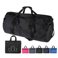 custom weekend vogue casual outdoor foldable travel duffel bag