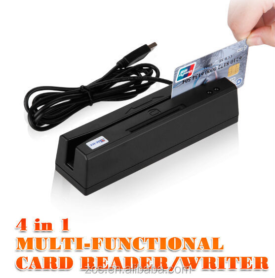 ZCS160 emv L1 L2 certificate magnetic NFC smart card reader for PC android