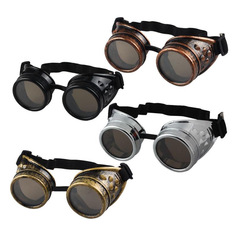 b2d50c526b Steampunk Sunglasses Men Steampunk Goggles Glasses Welding Punk Gothic  Glasses Cosplay Unisex Vintage Victorian Style  25 Tifosi Sunglasses Cheap  Eyeglasses ...