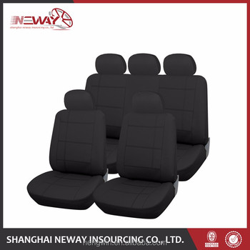 2017 New Clear Plastic Car Seat Covers With Good Quality