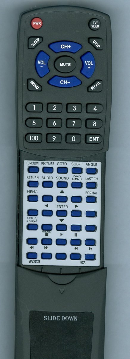 RCA Replacement Remote Control for SPS36123