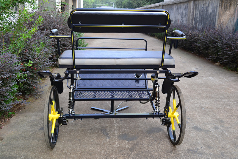 Luxury Two Wheel Horse cart/sulky horse cart