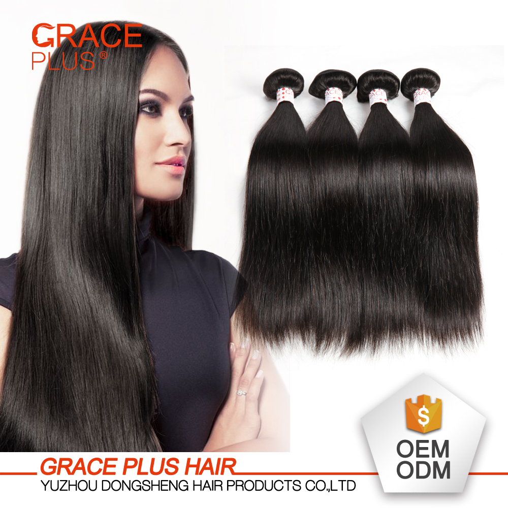 Wholesale Remy Hair Natural Color Silky Straight Virgin Peruvian Human Hair
