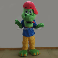 adult green crocodile mascot costume easy wear crocodile mascot