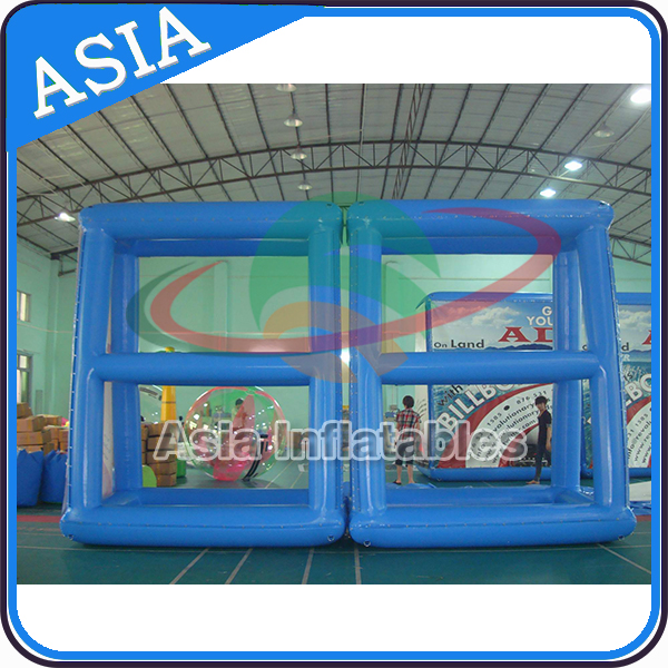 Giant blue air tight billboard / inflatable signboard / floating signboard