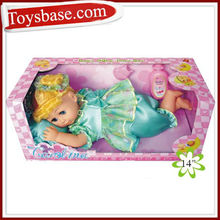 14 inch baby lovely sleeping dolls