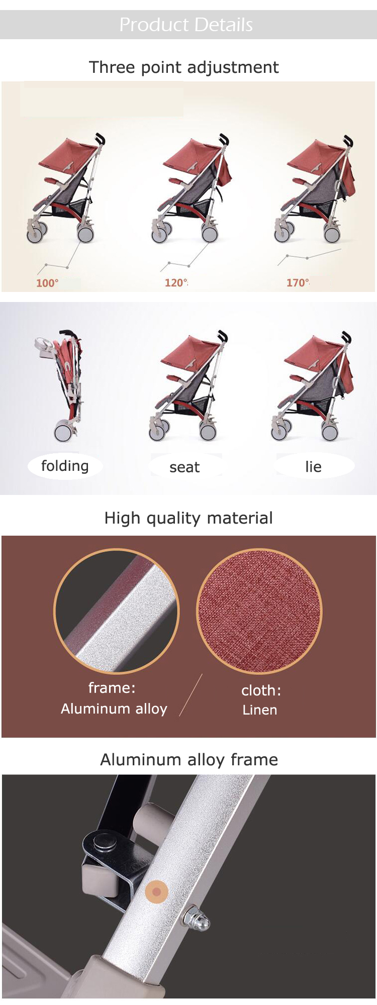 Alibaba trade assurance china factory luxury european baby stroller
