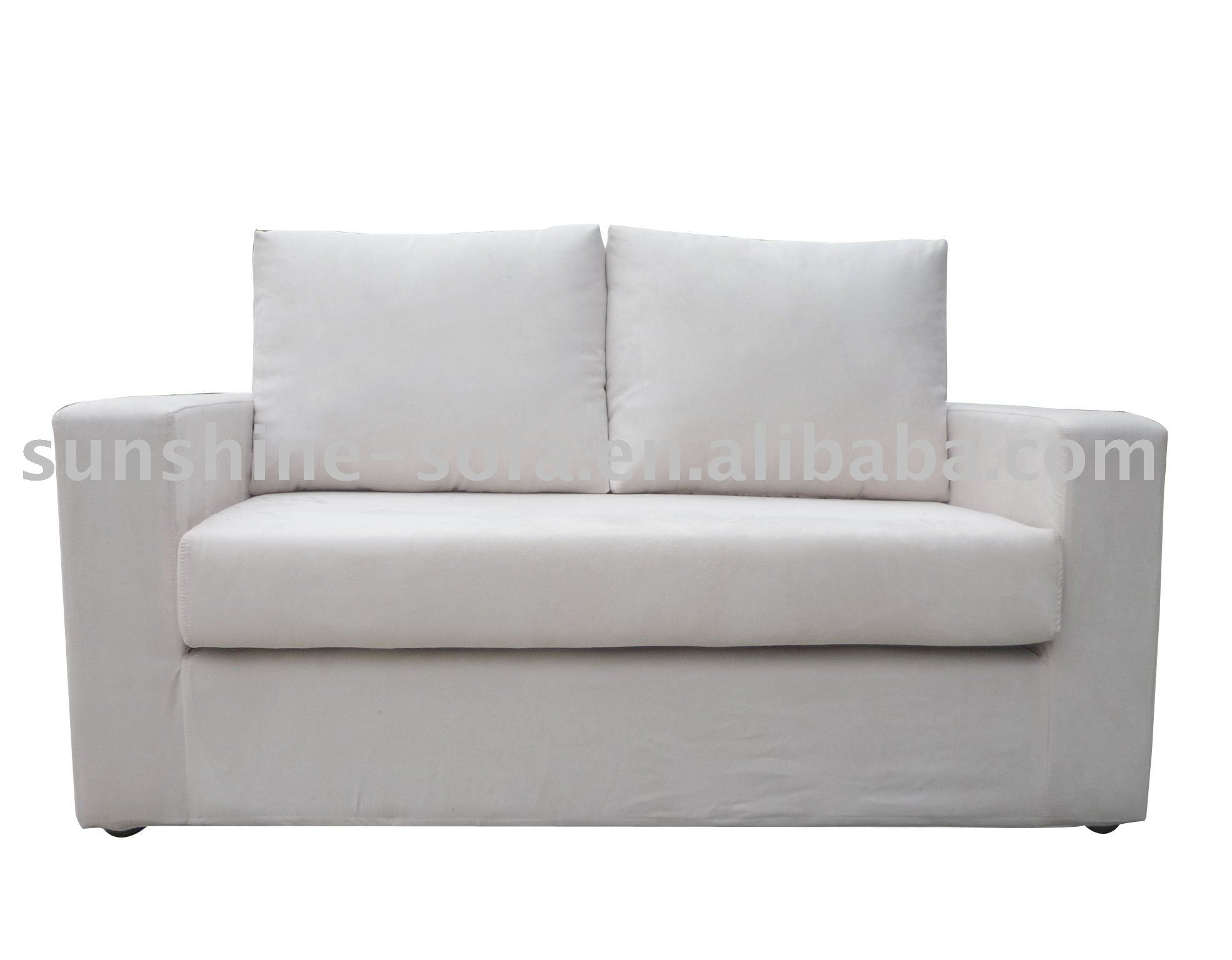 Wooden Double Seaters Leisure Fabric Sofa Bed Buy Double