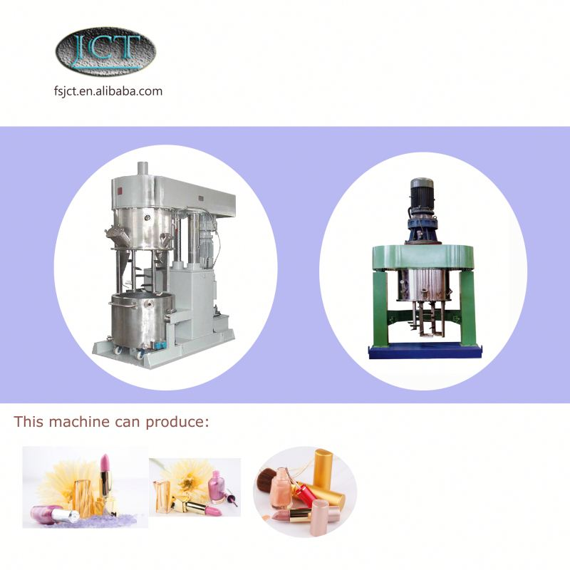 JCT brand your own cosmetic making planetary mixer