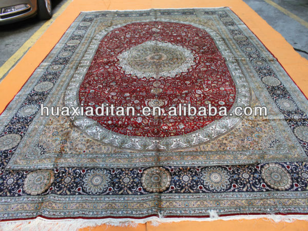 Silk Rug Carpet Guangdong Factory China