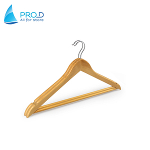 High quality Clothing store wooden hanger Customized wood hanger for garment