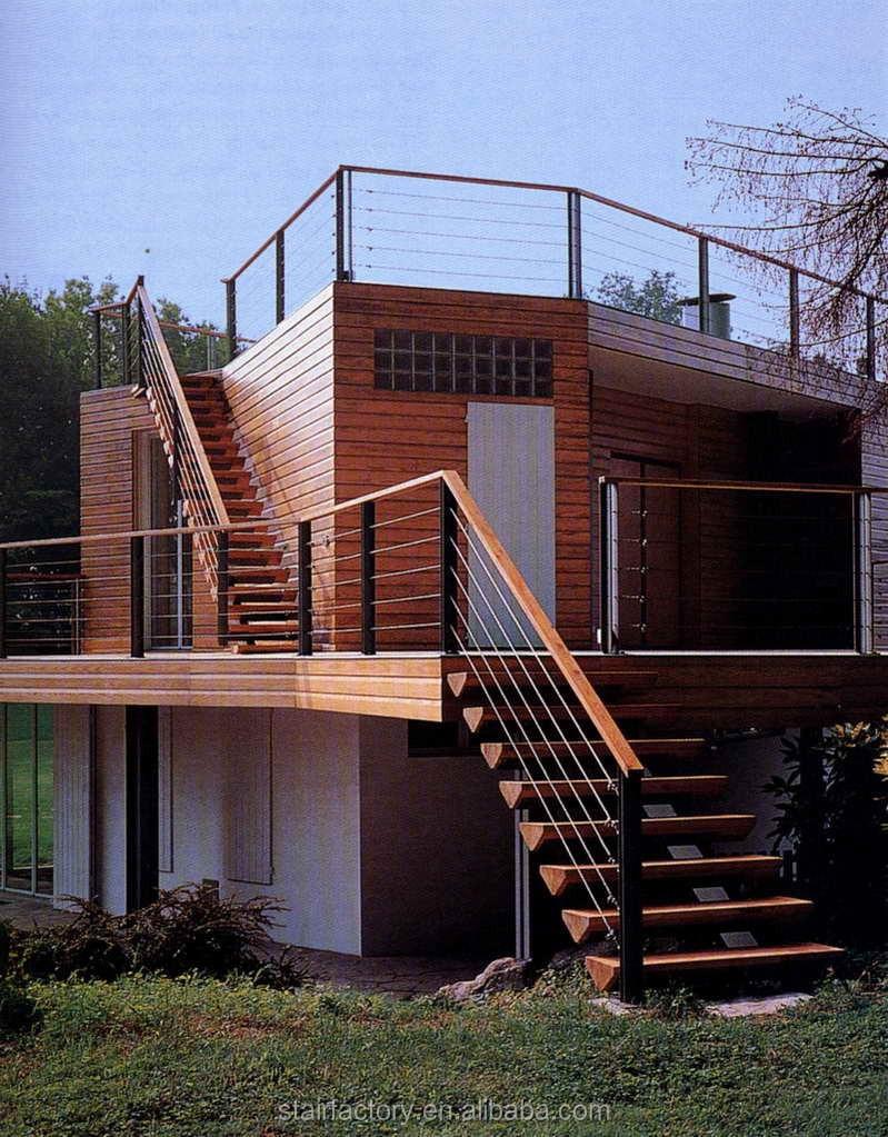 Relativ Moderne Holztreppen,Geländer Außentreppen Aus Holz,Holzstreben MU86