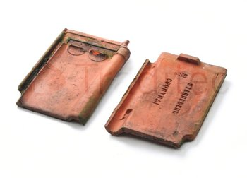 Coutrai Pottelberg Sterrenberg Natural Red Clay Roof Tile Reclaimed Buy Clay Roof Tile Product On Alibaba Com