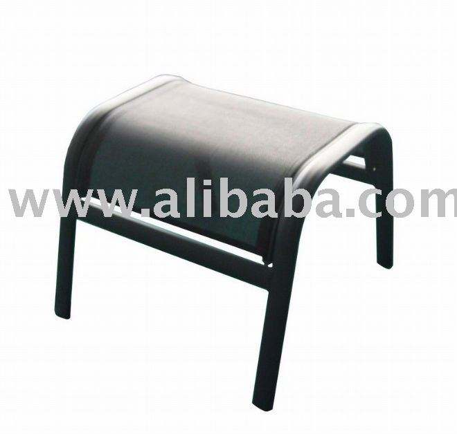 Outdoor Patio Furniture Sling Stackable Stool Ottoman U0026 Footrest   Buy  Sling Ottoman Product On Alibaba.com