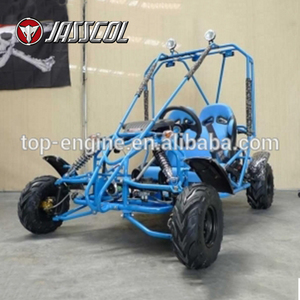 China wholesale cool boy 2 seat electric start 110CC mini cheap gas go karts for kids