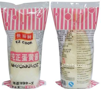 Mayonnaise With Egg Packed In Pet Bottles - Buy Mayonnaise ...