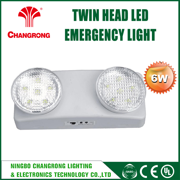 Standby Small Size 2*4w Twin Spot Led Emergency Light Price